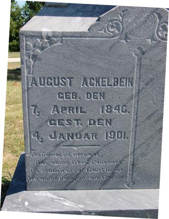 ACKELBEIN, AUGUST - Crawford County, Iowa | AUGUST ACKELBEIN