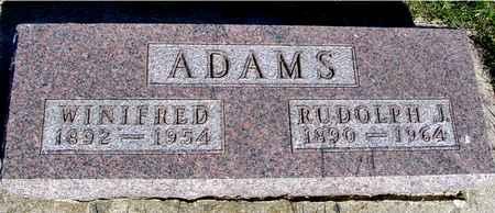 ADAMS, RUDOLPH & WINIFRED - Crawford County, Iowa | RUDOLPH & WINIFRED ADAMS