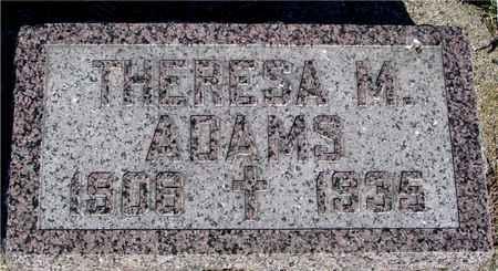ADAMS, THERESA M. - Crawford County, Iowa | THERESA M. ADAMS