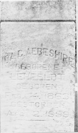 AEBESCHIRE, IDA - Crawford County, Iowa | IDA AEBESCHIRE