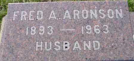 ARONSON, FRED A. - Crawford County, Iowa | FRED A. ARONSON