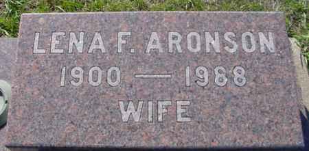ARONSON, LENA F. - Crawford County, Iowa | LENA F. ARONSON