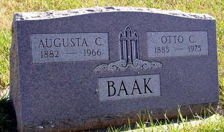 BAAK, OTTO & AUGUSTA - Crawford County, Iowa | OTTO & AUGUSTA BAAK