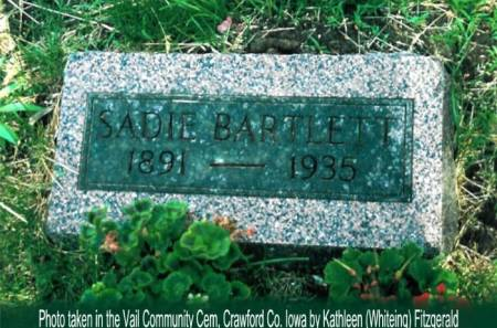 BARTLETT, SADIE - Crawford County, Iowa | SADIE BARTLETT