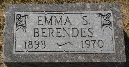 BERENDES, EMMA S. - Crawford County, Iowa | EMMA S. BERENDES