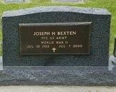 BEXTEN, JOSEPH HENRY - Crawford County, Iowa   JOSEPH HENRY BEXTEN
