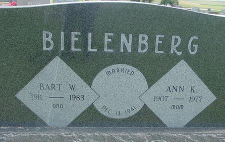 BIELENBERG, BART W. - Crawford County, Iowa | BART W. BIELENBERG