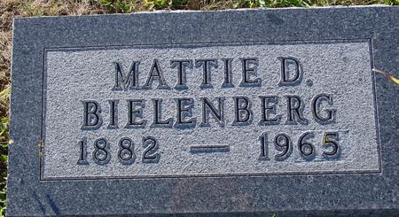 BIELENBERG, MATTIE D. - Crawford County, Iowa | MATTIE D. BIELENBERG