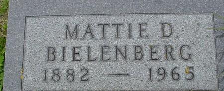 BIELENBERG, MATTIE - Crawford County, Iowa | MATTIE BIELENBERG