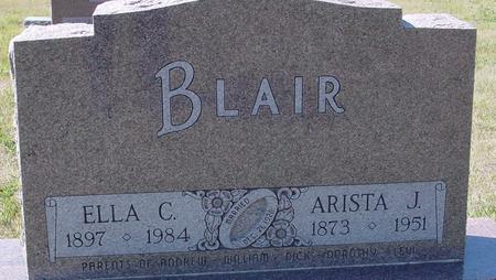 BLAIR, ARISTA J. & ELLA C. - Crawford County, Iowa | ARISTA J. & ELLA C. BLAIR