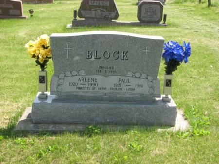 BLOCK, ARLENE - Crawford County, Iowa | ARLENE BLOCK