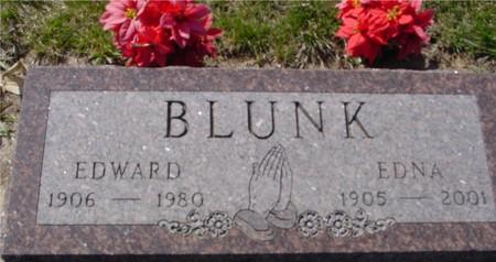 BLUNK, EDWARD & EDNA - Crawford County, Iowa | EDWARD & EDNA BLUNK
