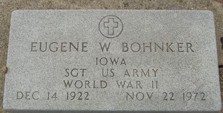 BOHNKER, EUGENE - Crawford County, Iowa | EUGENE BOHNKER