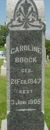 BOOCK, CAROLINE - Crawford County, Iowa | CAROLINE BOOCK