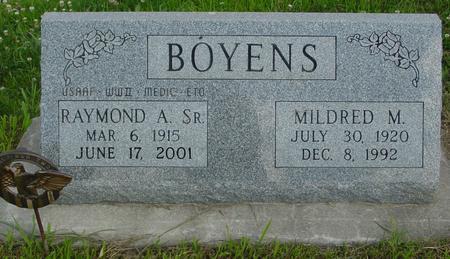 BOYENS, RAYMOND A. - Crawford County, Iowa | RAYMOND A. BOYENS