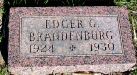 BRANDENBURG, EDGER G. - Crawford County, Iowa | EDGER G. BRANDENBURG