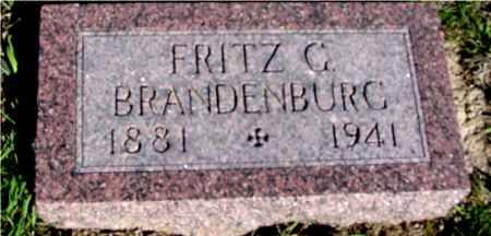 BRANDENBURG, FRITZ C. - Crawford County, Iowa | FRITZ C. BRANDENBURG