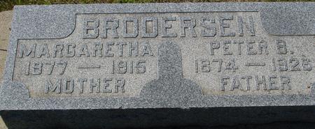 BRODERSEN, PETER & MARGARETHA - Crawford County, Iowa | PETER & MARGARETHA BRODERSEN