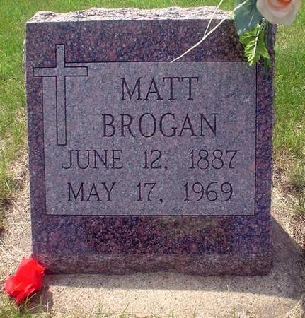BROGAN, JAMES (MATT) - Crawford County, Iowa | JAMES (MATT) BROGAN