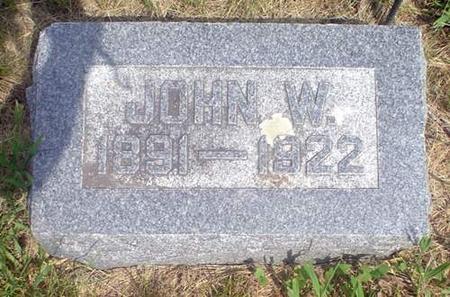 BROGAN, JOHN W. - Crawford County, Iowa | JOHN W. BROGAN