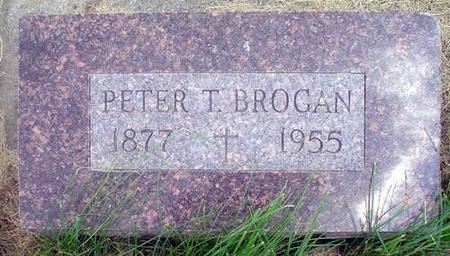 BROGAN, PETER T. - Crawford County, Iowa | PETER T. BROGAN