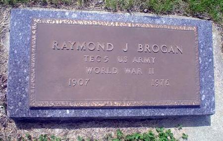 BROGAN, RAYMOND J. - Crawford County, Iowa   RAYMOND J. BROGAN