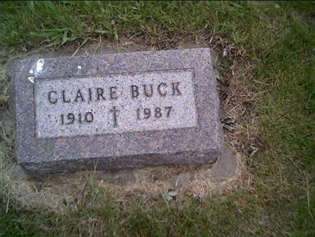 O'DONNELL BUCK, CLAIRE - Crawford County, Iowa | CLAIRE O'DONNELL BUCK