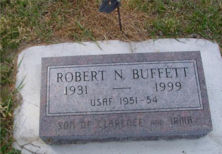 BUFFETT, ROBERT N. - Crawford County, Iowa | ROBERT N. BUFFETT