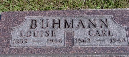 BUHMANN, CARL & LOUISE - Crawford County, Iowa | CARL & LOUISE BUHMANN
