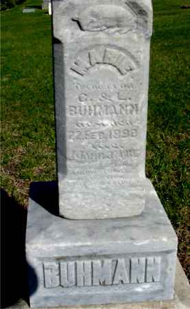 BUHMANN, MARIE - Crawford County, Iowa | MARIE BUHMANN