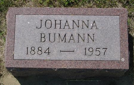 BUMANN, JOHANNA - Crawford County, Iowa | JOHANNA BUMANN