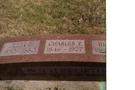 BUTTERWORTH, CHARLES EDWARD - Crawford County, Iowa | CHARLES EDWARD BUTTERWORTH