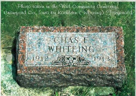 WHITEING, CHARLES FOSTER - Crawford County, Iowa | CHARLES FOSTER WHITEING