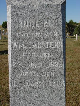 CARSTENS, INGE M. - Crawford County, Iowa | INGE M. CARSTENS