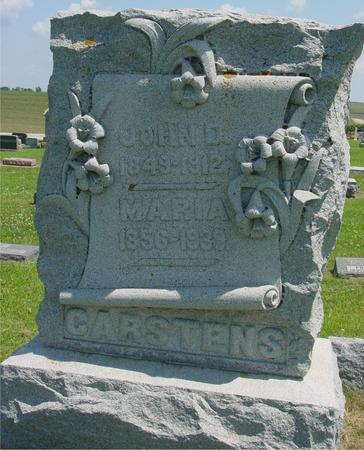 CARSTENS, JOHN D. - Crawford County, Iowa   JOHN D. CARSTENS
