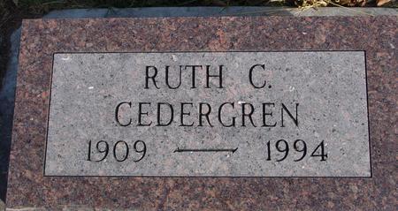 CEDERGREN, RUTH C. - Crawford County, Iowa   RUTH C. CEDERGREN