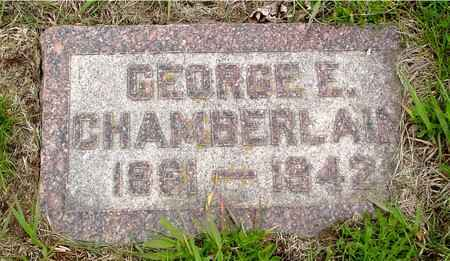 CHAMBERLAIN, GEORGE E. - Crawford County, Iowa | GEORGE E. CHAMBERLAIN