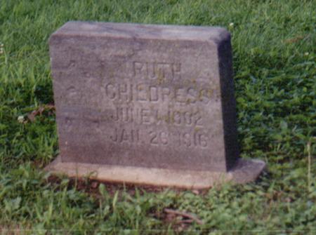 CHILDRESS, RUTH - Crawford County, Iowa | RUTH CHILDRESS