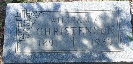 CHRISTENSEN, WILLIAM A. - Crawford County, Iowa | WILLIAM A. CHRISTENSEN