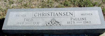 CHRISTIANSEN, FRED & PAULINE - Crawford County, Iowa | FRED & PAULINE CHRISTIANSEN