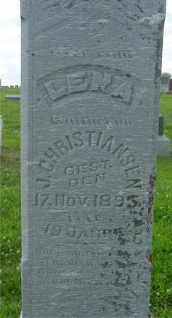 CHRISTIANSEN, LENA - Crawford County, Iowa | LENA CHRISTIANSEN