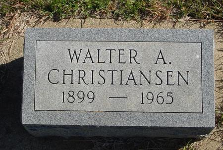 CHRISTIANSEN, WALTER A. - Crawford County, Iowa | WALTER A. CHRISTIANSEN