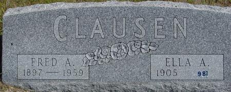 CLAUSEN, FRED & ELLA - Crawford County, Iowa | FRED & ELLA CLAUSEN