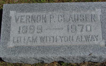 CLAUSEN, VERNON - Crawford County, Iowa   VERNON CLAUSEN