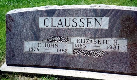 CLAUSSEN, C. JOHN & ELIZABETH - Crawford County, Iowa | C. JOHN & ELIZABETH CLAUSSEN