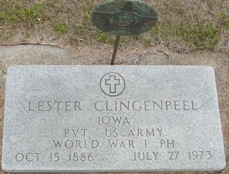 CLINGENPEEL, LESTER - Crawford County, Iowa | LESTER CLINGENPEEL