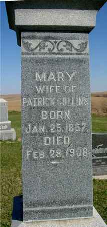 COLLINS, MARY - Crawford County, Iowa | MARY COLLINS