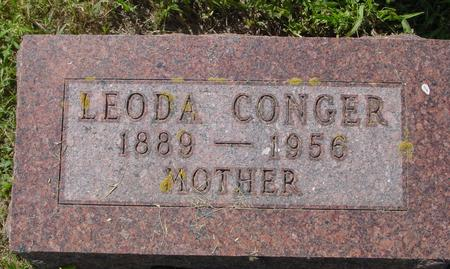 CONGER, LEODA - Crawford County, Iowa | LEODA CONGER