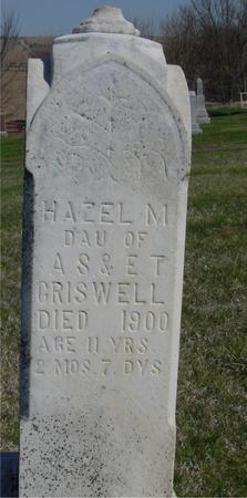 CRISWELL, HAZEL M. - Crawford County, Iowa | HAZEL M. CRISWELL