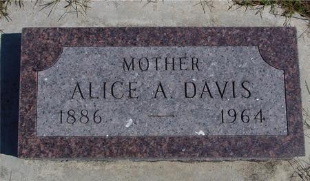 DAVIS, ALICE A. - Crawford County, Iowa | ALICE A. DAVIS